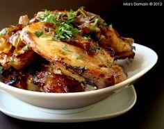 Slow Roasted Rosemary Garlic Chicken