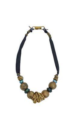 De Petra Leather necklace