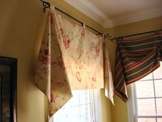 Easy, clever window treatment