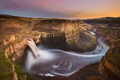Palouse falls by Vadim Dmitriyev, via 500px