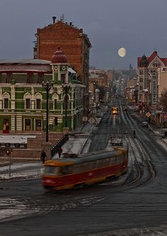 Morning in the City     Vladimir Kostylev