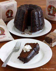 Heritage Steamed Chocolate Pudding. daringgourmet.com chocol pud, chocolates, puddings, food food, chocol oth, cakeahol anonym, steam chocol, chocolate pudding, dessert