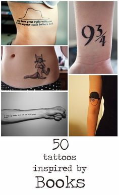 50 Incredible Tattoos Inspired By Books :: LOVE #11