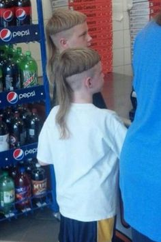 I didn't think there was any hairdo worse than a mullet...guess I was wrong.