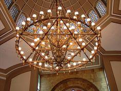 Star of David    Interior of a synagogue in Turkey.    Star of David by WildGingerCat, via Flickr