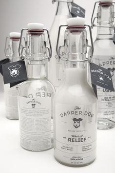 The Dapper Dog #Packaging #Branding #Design #Bottle