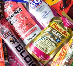 Great article about energy gels for long distance running.