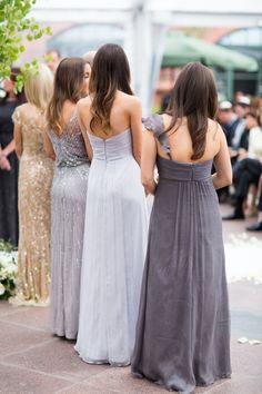 #Bridesmaids | See the wedding on SMP - http://www.stylemepretty.com/destination-weddings/2014/01/03/aspen-co-wedding-at-the-st-regis-aspen-resort/ Samuel Lippke Studios