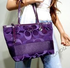 fashion, coach bags, purple, accessori, coach purses and handbags, color, coaches, purpl coach, coach outlet