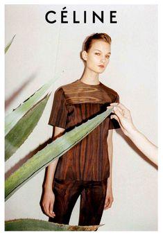Celine, wood