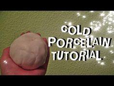 ▶ ¿Como hacer porcelana fría? (CASERA Y FACIL) // COLD PORCELAIN TUTORIAL - YouTube