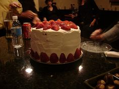 Helen's Strawberry Shortcake