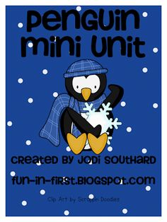 Fun in First Grade: Penguins {Nonfiction & Fiction}