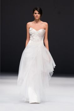 For the bold bride - Jenny Lee wedding dress: http://www.stylemepretty.com/2014/10/29/designer-spotlight-from-the-smp-look-book/