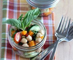 // summer chopped chickpea salad [from With Style & Grace]