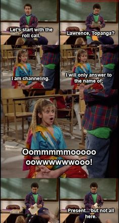 Boy Meets World. LOVE.