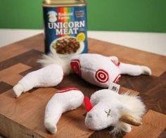 Just some canned unicorn meat