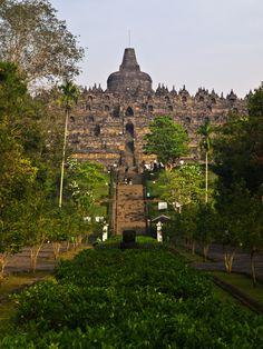 Borobudur Buddhist Temple, Yogyakarta, Indonesia