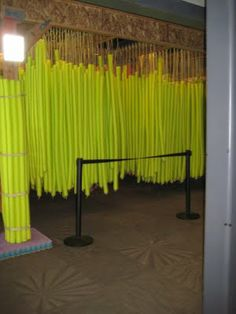 Pool noodles .. could be fun