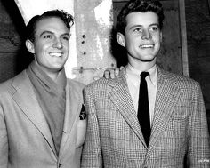Robert Stack and John F. Kennedy