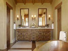 ornate carved vanity