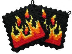 Flame Pot Holders