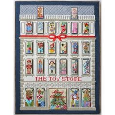 We wish everyone lived in Raleigh and could see this in person in our shop!  Stitch this heirloom for your family!  Exclusively at www.needlepoint.com