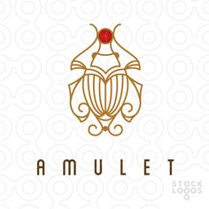 Exclusive Customizable Logo For Sale: amulet antiques and curiosities | StockLogos.com