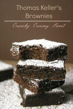 Thomas Keller's Brownies