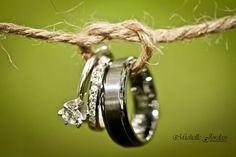 Tie the knot wedding photo