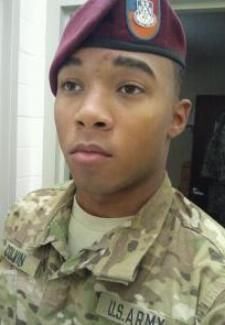 Army Pfc. Julian L. Colvin, 21, of Birmingham, Alabama. Died July 22, 2012, serving during Operation Enduring Freedom. Assigned to 508th Special Troops Battalion, 4th Brigade Combat Team, 82nd Airborne Division, Fort Bragg, North Carolina. Died in Kandahar Province, Afghanistan, of wounds suffered from an enemy improvised explosive device.