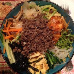 Bibimbap ( Korean mixed rice)