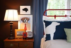 Sonya jensen on pinterest for Dog themed bedroom ideas