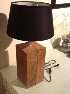 Houten lamp on pinterest driftwood lamp wooden lamp and wood lamps - Een houten boom maken ...