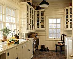 bright farmhouse laundry room.