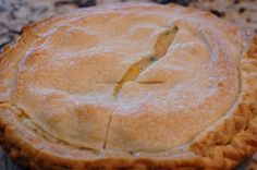 Or so she says...: Chicken Pot Pie, Oh So Easy!  The hubs really, really liked this.  It really does make enough to do three pies, so I froze the extra fillings...hopefully, they will taste just as good. dinner, pie yummym, pie foodrecip, freezer meals, easi chicken, pie crusts, chicken pot pies, cooking, eat