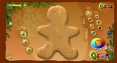 Gingerbread Decorating Site