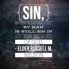 ANY sin will always be sin . . . rise above the temptation and become who God wants you to be! ♥