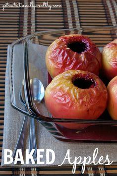 Baked Apples | Butternutrition.com