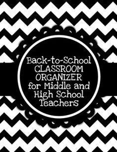 ED: Classroom organizer for teachers #teacher #organizer #classroom #education