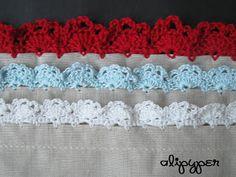 alipyper: Eyelet Lace Crochet Edging Pattern