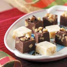 Eggnog Fudge Recipe from Taste of Home