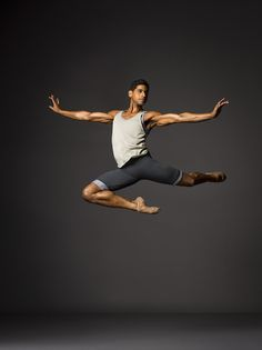 New York City Ballet's Amar Ramasar, photographed by Henry Leutwyler