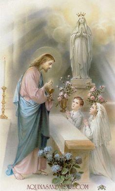 Holy Communion Custom Holy Card