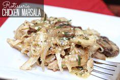 Rotisserie Chicken Marsala Sophistishe.com
