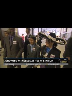 International family - wife has Mexican heritage  husband from Peru. King5.com Jehovah's Witnesses pack Husky Stadium Jehovah's Witnesses pack Husky Stadium http://www.king5.com/news/local/Jehovahs-Witnesses-pack-Husky-Stadium-265861081.html