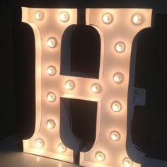 Letter Lights AUD $255 - any letter