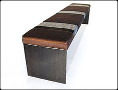 Bun Warmer Metal Bench by RiggoDesign, via Flickr