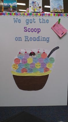 The Scoop On Reading Bulletin Board Theme
