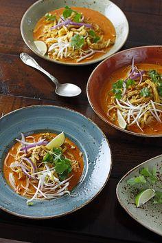 Chicken Khao Soi by bonappetit  #Soup #Chicken #Thai